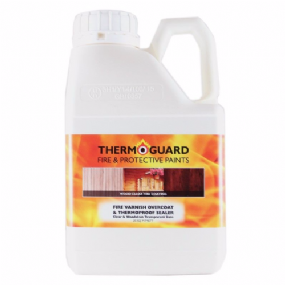 Thermoguard Fire Varnish Interior Overcoat For Timber & Wood | www.paints4trade.com